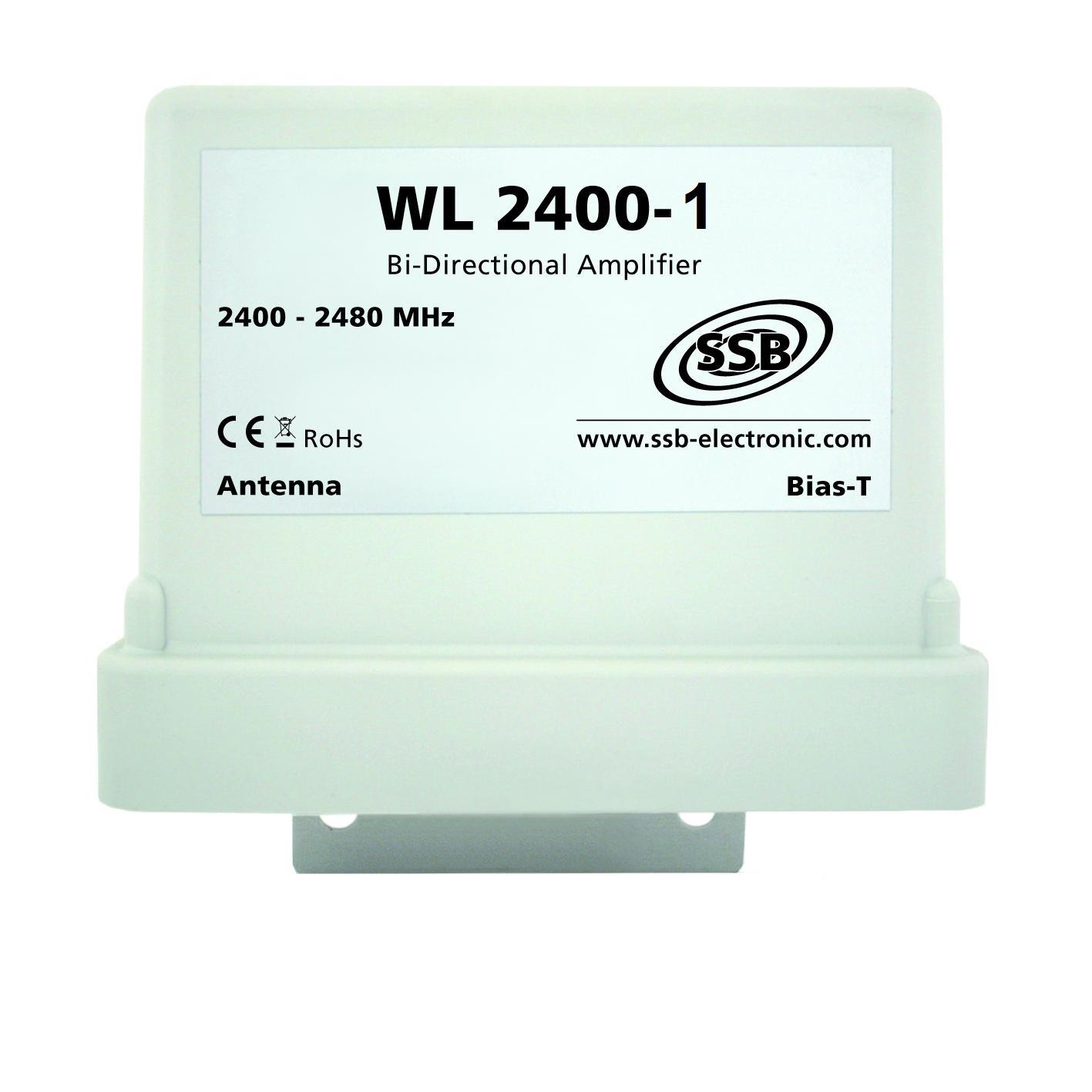 2,4 GHz amplifier