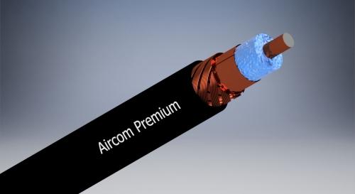 Aircom Premium - 1m Coaxial Cable