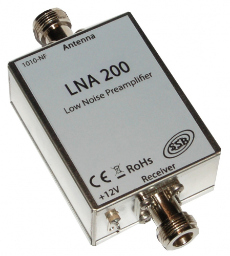 LNA 200 Vorverst. 145 MHz N-Stecker