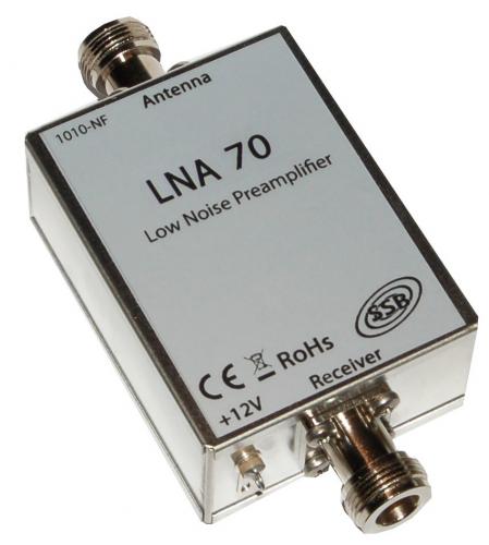 LNA 70 Vorverst. 435 MHz N-Stecker