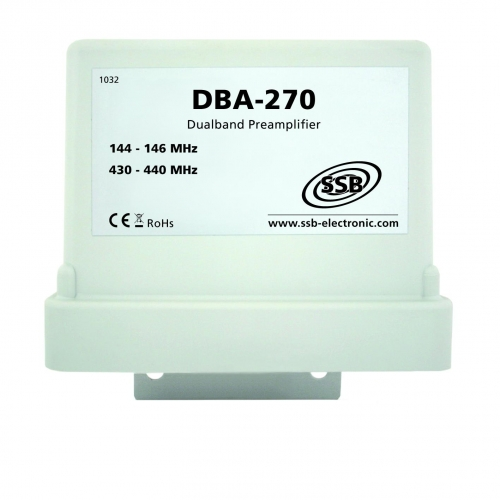 DBA 270   Mast-Preamplifier  2m and 70cm