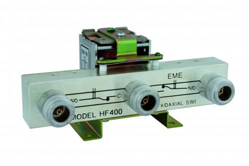 HF 400   Koaxrelais  3x N-Buchse 4010