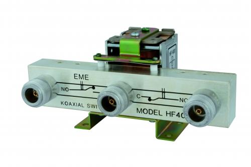 HF 400-2z   Koaxrelais  3x N-Buchse  2z Kontakte 4012