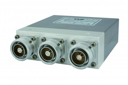 HF 4002/3   Koaxrelais  3x  7-16DIN Buchse