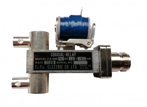 CX 600NC   Coaxrelay  1x N-fem.  2x solder