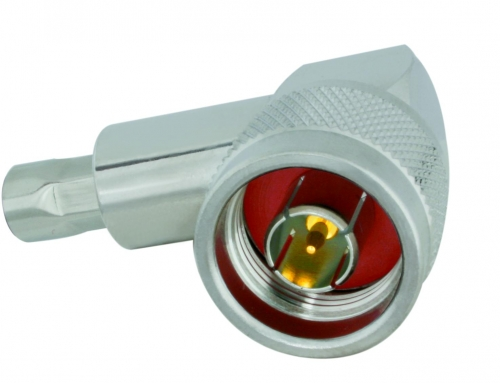 N-Winkelstecker Aircell 5 (crimp)