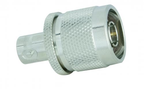 Adapter  N-Stecker / BNC-Buchse