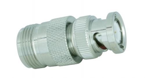 Adapter  N-Buchse / BNC-Stecker