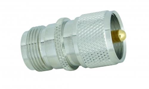 Adapter  N-Buchse / UHF-Stecker