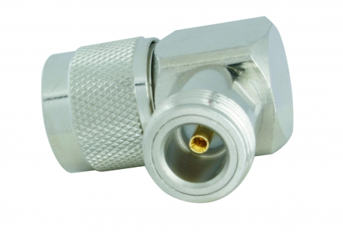 Adapter right-angle N-fem / N-male