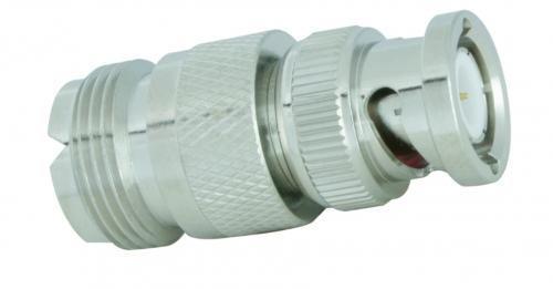 Adapter  BNC-Stecker / UHF-Buchse