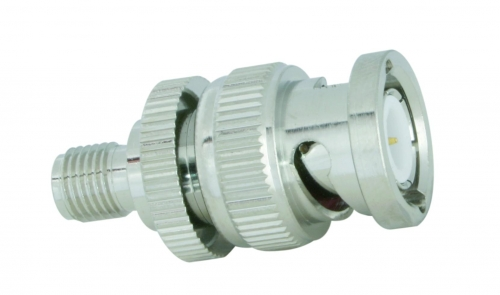 Adapter  BNC-male / SMA-fem.