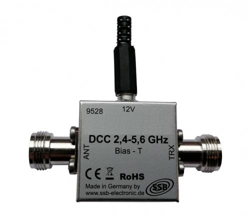 DCC 2,4 - 5,6 GHz  Fernspeiseweiche
