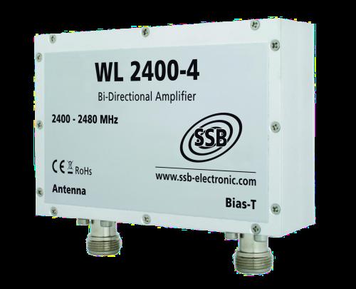 WL 2400-4 WLAN Pro-Verstaerker 2,4 GHz/4W
