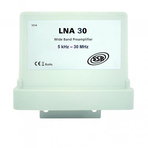 LNA 30 wide band preamp.  5 kHz - 30 MHz