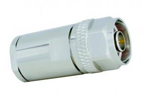 N-Stecker Ecoflex 10 Plus Heatex/SeaTex (lötfrei)