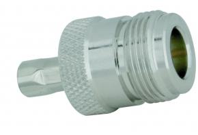 N-RP-Buchse Aircell 5 (crimp)