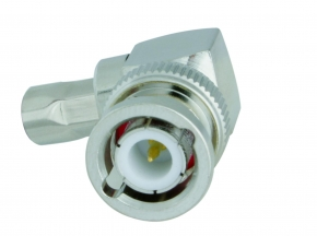BNC-Winkelstecker Aircell 5 (crimp)