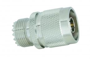 Adapter  N-Stecker / UHF-Buchse