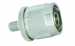 Adapter  N-Stecker / SMA-Buchse