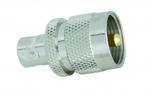 Adapter  BNC-Buchse / UHF-Stecker