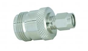 Adapter  N-Buchse / SMA-RP Stecker